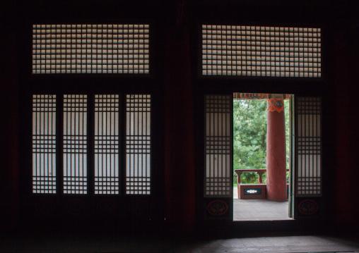 Former royal villa of Ri Song Gye founder of the choson dynasty, South Hamgyong Province, Hamhung, North Korea