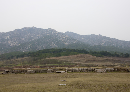 Manwoldae royal palace excavations, North Hwanghae Province, Kaesong, North Korea
