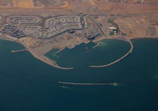 Landscape Of New Harbor, Salalah, Oman