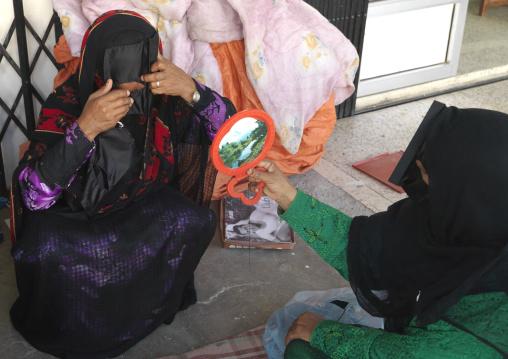 Bedouin Woman In Sinaw, Oman