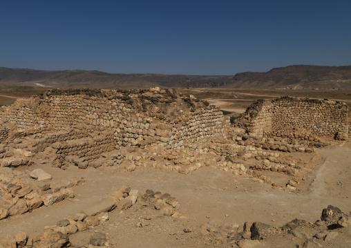 Khor Rori Or Khawr Rawri Site Shooted From High Angle, Taqa, Oman