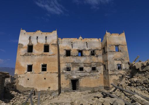 Collapsed House Of A Rich Merchant, Bayt Al Siduf, Mirbat, Oman