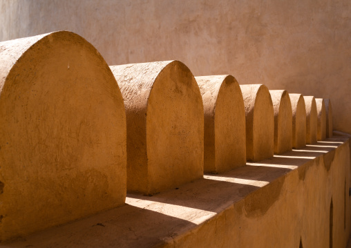 Nizwa fort remparts, Ad Dakhiliyah Region, Nizwa, Oman