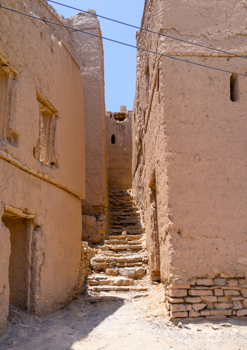 Ruins of old houses, Ad Dakhiliyah Governorate, Birkat Al Mouz, Oman