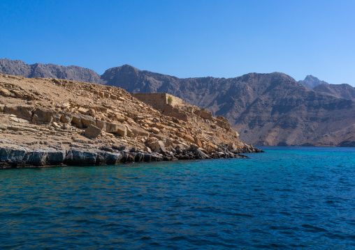 Telegraph island, Musandam Governorate, Khasab, Oman