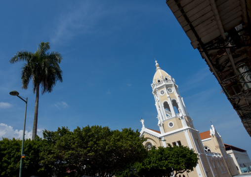 Panama, Province Of Panama, Panama City, The Church Of Santo Domingo In The Casco Viejo