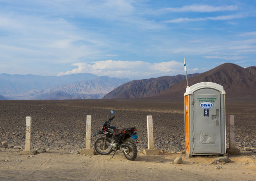 Toilets On The Highway, Nazca, Peru