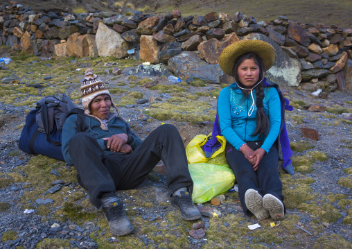 Young Peruvian Couple, Qoyllur Riti Festival, Ocongate Cuzco, Peru