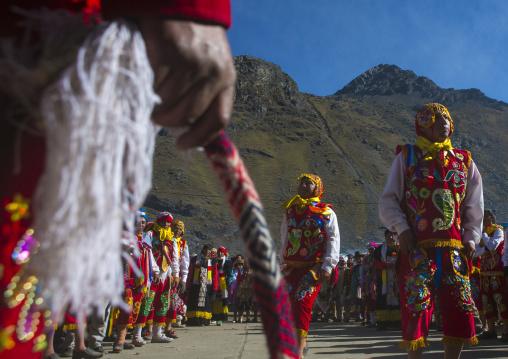 Ukuku Whipping, Qoyllur Riti Festival, Ocongate Cuzco, Peru