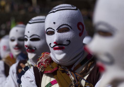 Ukukus At Qoyllur Riti Festival, Ocongate Cuzco, Peru