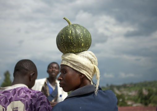 Rwandan people in a market, Kigali Province, Kigali, Rwanda