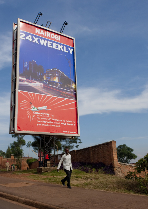 Kenya airways adverstising - kigali rwanda