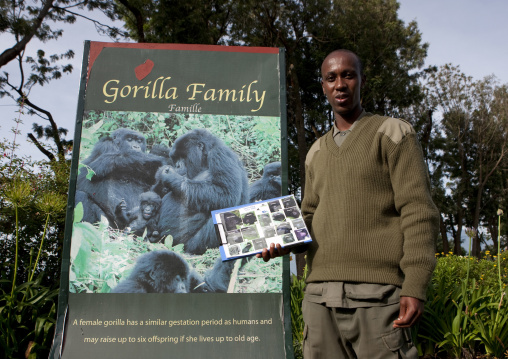 Volcanoes national park guides - rwanda