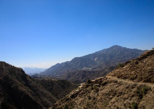 Village in the mountains, Jizan Province, Addayer, Saudi Arabia