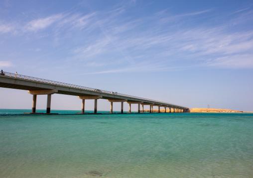 Bridge over the red sea, Jizan Region, Farasan island, Saudi Arabia