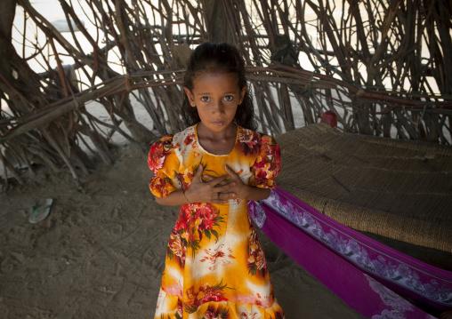 Yemeni refugee girl, Jizan province, Jizan, Saudi Arabia