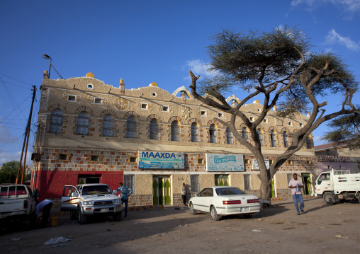 An old building and a tree in hargeisa square, Hargeisa, Somaliland