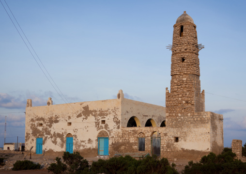 New Mosque And Minaret, Zeila, Somaliland