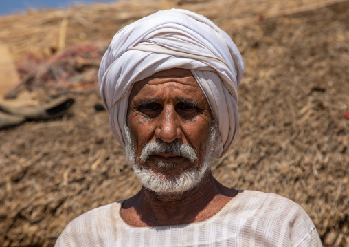 Portrait of a Rashaida tribe man, Kassala State, Kassala, Sudan