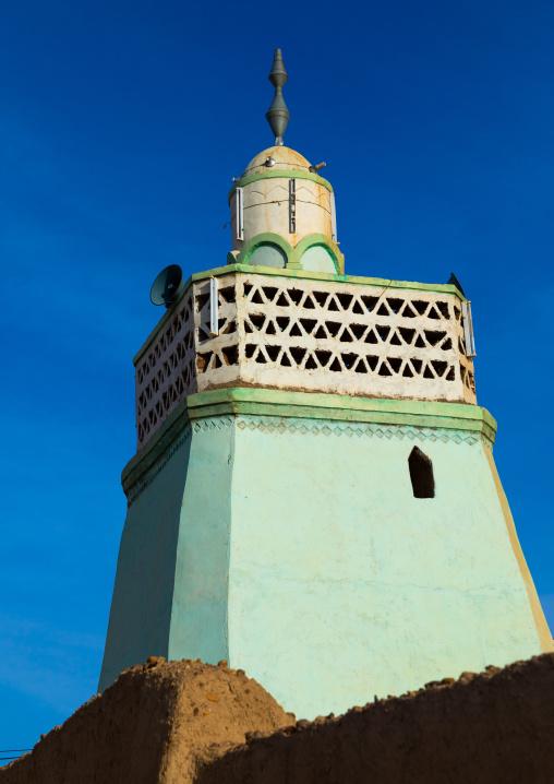 Al-Khatibiya mosque minaret, Northern State, Al-Khandaq, Sudan