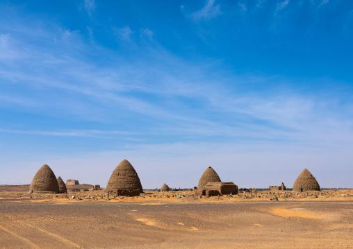 Beehive tombs, Nubia, Old Dongola, Sudan