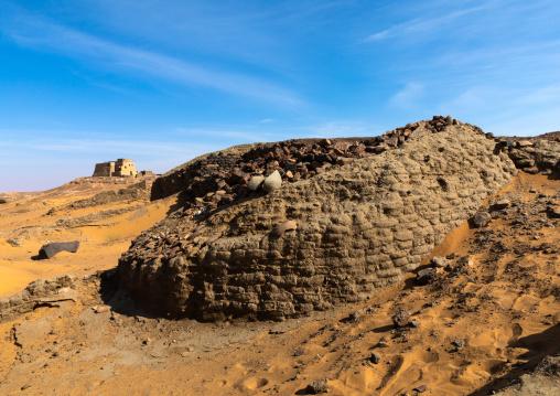 Ruiins of the citadel, Nubia, Old Dongola, Sudan