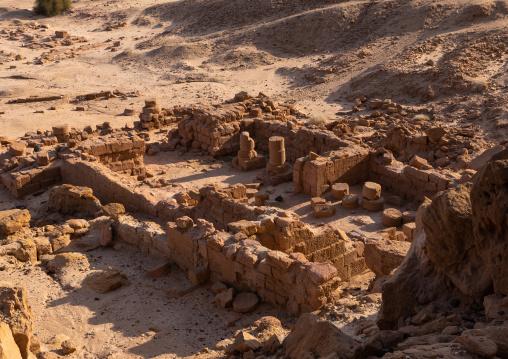 Amun temple at jebel Barkal, Northern State, Karima, Sudan