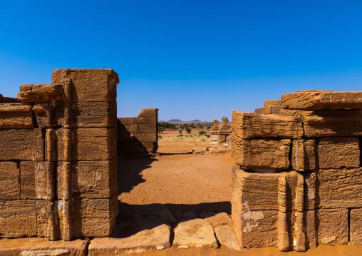 Amun temple entrance, Nubia, Naqa, Sudan