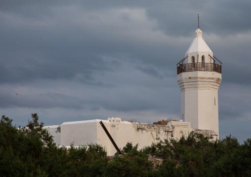 The renovated Shafai mosque, Red Sea State, Suakin, Sudan