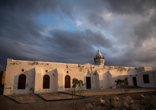 The renovated Shafai mosque, Red Sea State, Suakin, Sudan