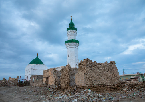El-Geyf mosque, Red Sea State, Suakin, Sudan