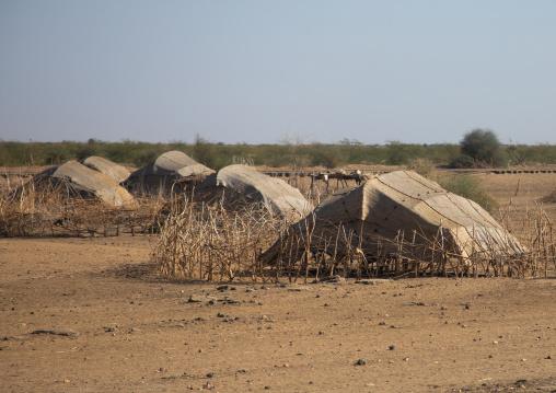 Traditional Beja tribe village, Kassala State, Kassala, Sudan