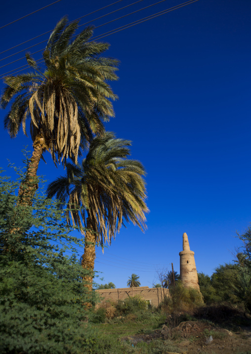 Sudan, Northern Province, Karima, adandoned ottoman mosque