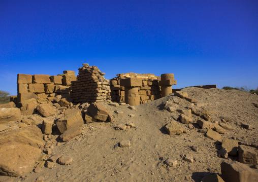 Sudan, Kush, Meroe, the royal cemetery