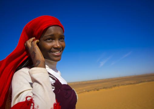 Sudan, Kush, Meroe, sudanese teenager girl
