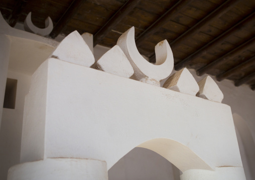 Sudan, Port Sudan, Suakin, mimbar in hanafi mosque