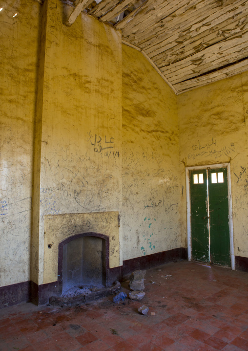 Sudan, Red Sea Hills, Erkowit, old english house
