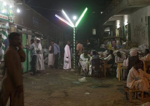 Sudan, Kassala State, Kassala, local restaurant