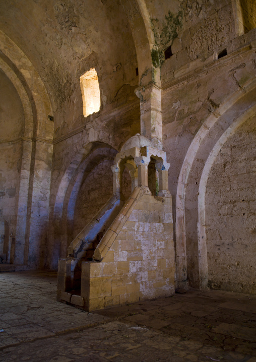 Chapel Inside The Krak des Chevaliers, Homs, Syria