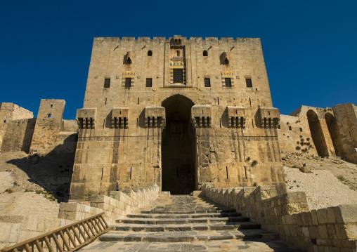 Aleppo Citadel Main Gate, Syria