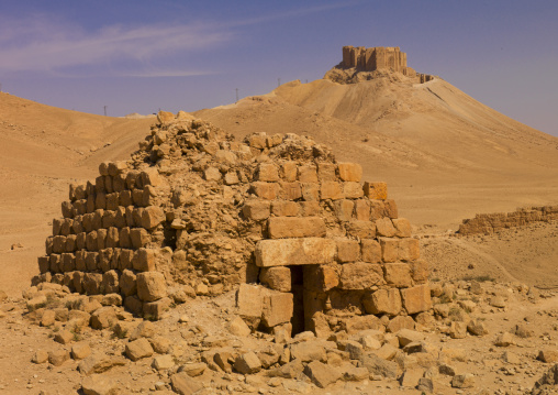 Eggelin Tomb Tower In The Ancient Roman city of Palmyra, Syria