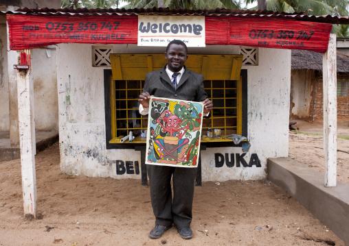 Artisit in mikindani, Tanzania