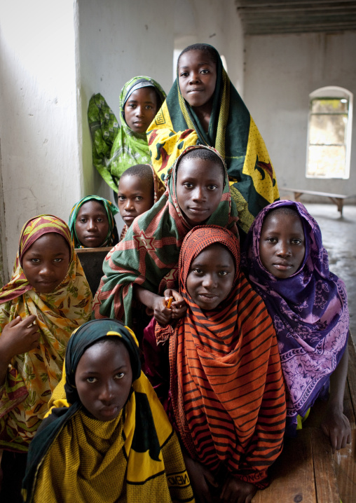 Madrassa pupils, Mikindani, Tanzania