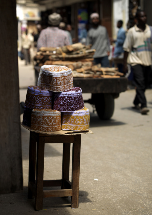 Stone town market,Zanzibar, Tanzania