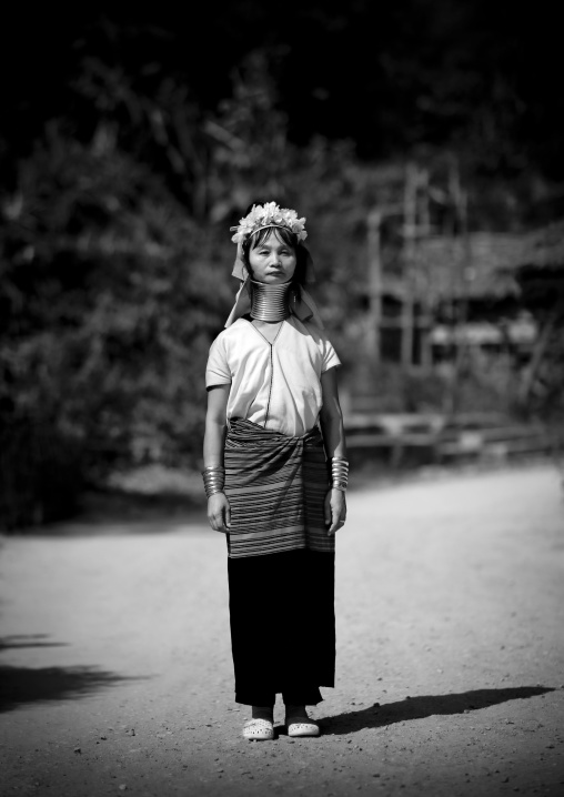 Long neck woman, Near mae hong son, Thailand