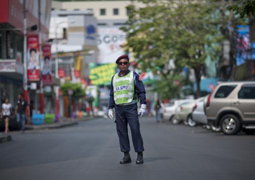 Security guard, Bangkok, Thailand