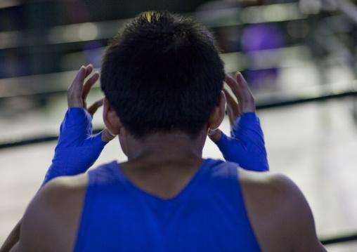 Muay thai boxing, Bangkok, Thailand