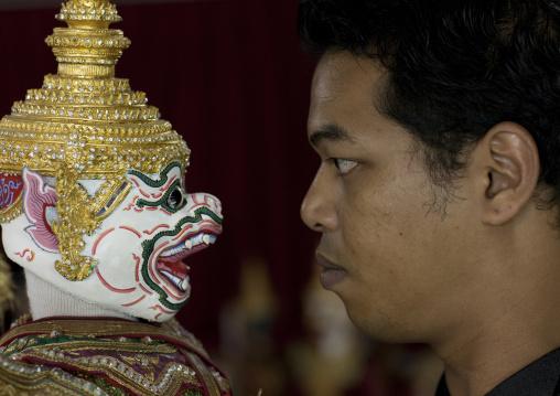Thai puppets show, Bangkok, Thailand