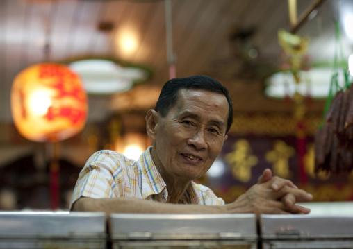 Chinatown man, Bangkok, Thailand