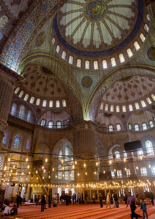 The Blue mosque sultan Ahmet Camii, Sultanahmet, istanbul, Turkey